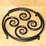 Spiral Trivet, large