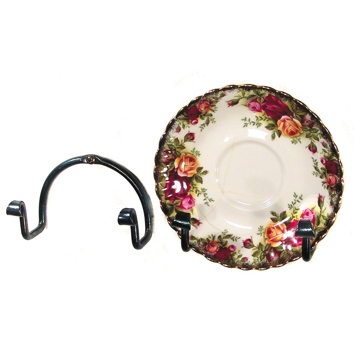 Mini Plate Holder wall  sc 1 st  Kootenay Forge & Mini Plate Holder wall | Wrought Iron Home Accessories